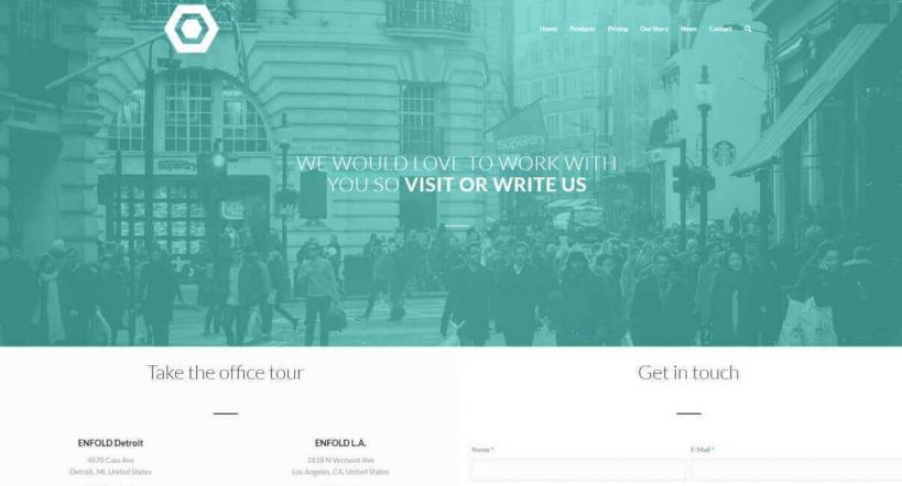 قالب وردپرسی Startup - Enfold